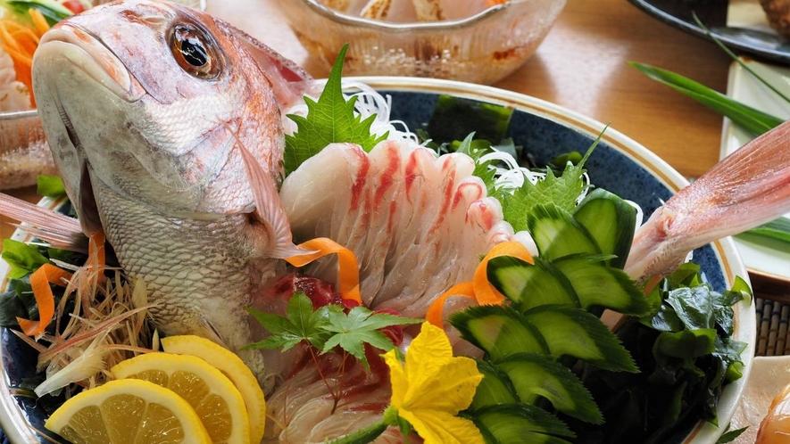 【瀬戸内鮮魚の会席】お造り2名様