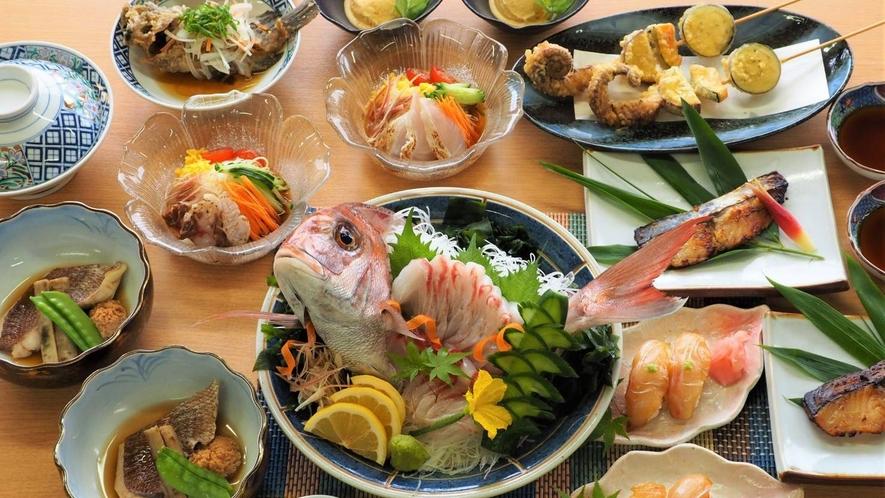 【瀬戸内鮮魚の会席】2名様