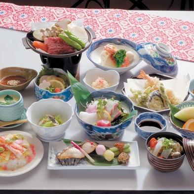 ◆【特別会席】グレードアップの夕食でちょっと贅沢な温泉旅行を【夕朝食付(特別会席)】
