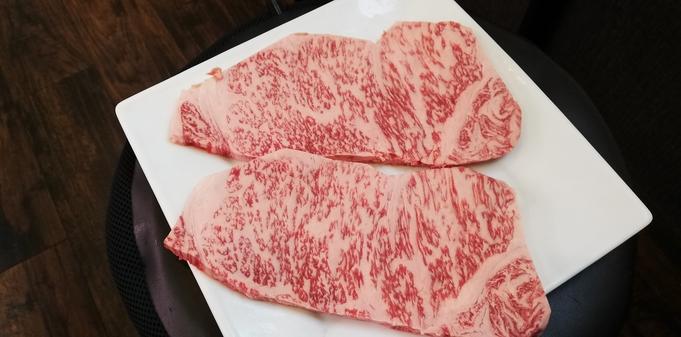 【九州産-A5-黒毛和牛ステーキ(200g/人)付プラン】とろける最高級を堪能あれ♪