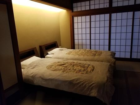 洗浄トイレ付和室ツイン【大人専用】空気清浄機(禁煙・3階)