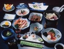 会席料理の一例