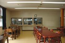 本館にある 36名収容OKの食堂