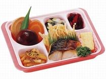 食事提供 高山給食センターの昼食弁当