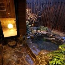 【露天風呂・内湯付き和室】
