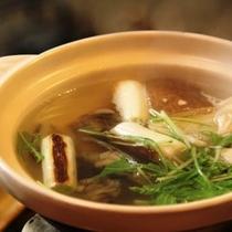 夕食 すっぽん鍋 (2)