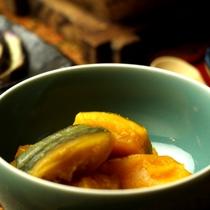 すくなかぼちゃを使ったお料理(煮物)
