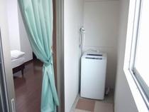 サンルーム 洗濯機付