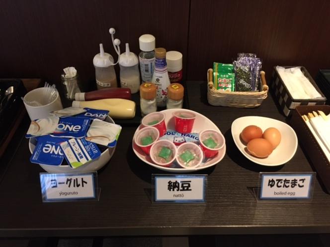 朝食ブッフェ※一例