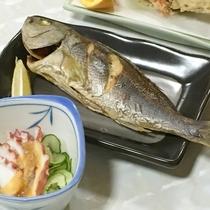 焼き魚(ご夕食一例)