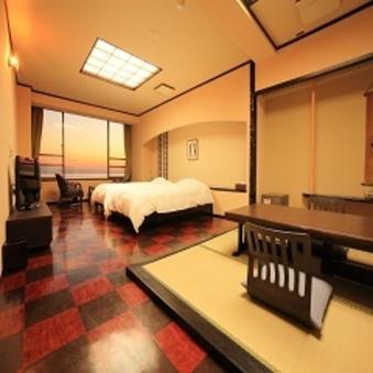 露天風呂付伊勢湾一望の広々和洋室『CHIDORI(ちどり)』