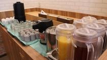 朝食 ドリンクバー