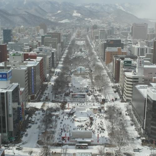 大通公園〜冬〜