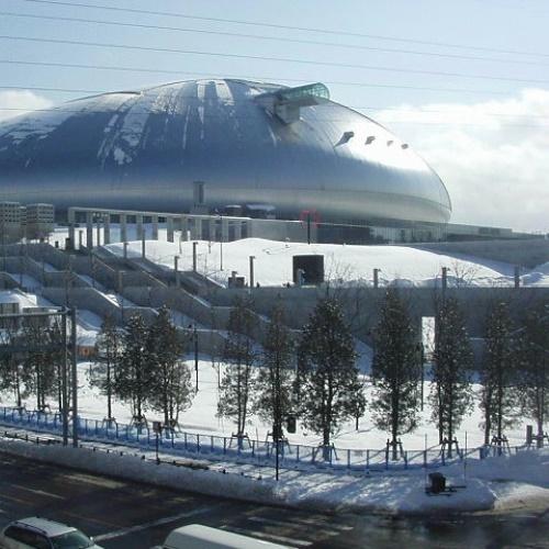札幌ドーム〜冬〜