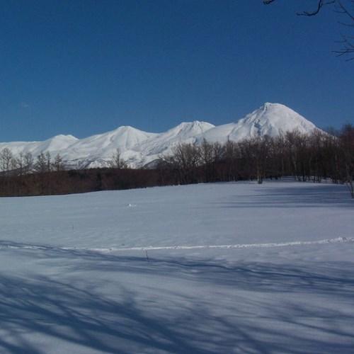 知床連山〜雪〜