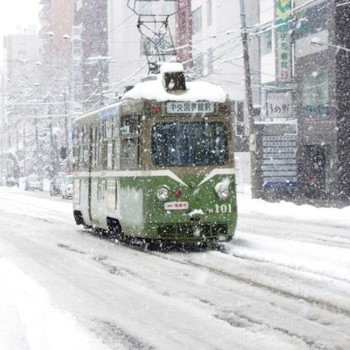 市電〜冬〜
