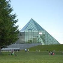 モエレ沼~ガラスピラミッド~