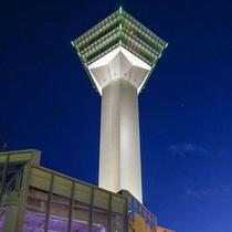 五稜郭タワー~夕方~