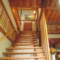 *2Fへの階段は少し急ですので、足の悪い方は1Fのお部屋をご予約ください。
