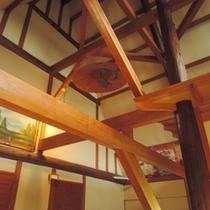 *木造建築ならではの味のある造りが当館の魅力です♪
