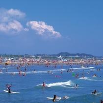 *【周辺】大洗サンビーチまで徒歩圏内!海水浴利用の拠点に当館はおすすめ!