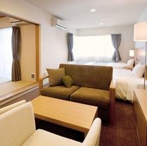 ◆海側和洋室4名定員<バス・トイレ付>