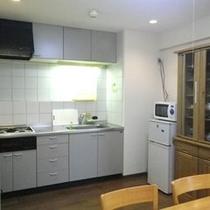 *【客室例】キッチン完備で長期滞在も安心♪