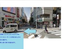 新橋駅からホテルまでの道のり②