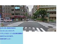 新橋駅からホテルまでの道のり④