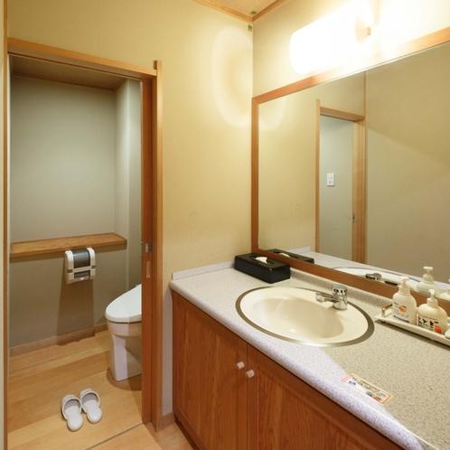 大正ロマン風和室8畳+4.5畳(洗面+トイレ付)眺めよい川側