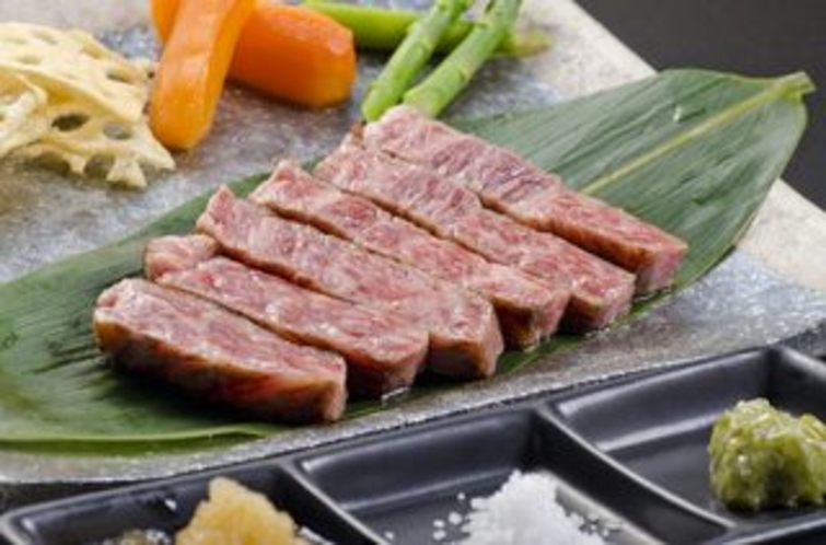 薩摩黒牛ステーキ