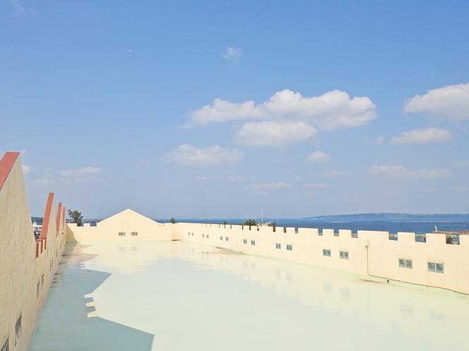 【屋上】広い屋上は出入り自由です♪