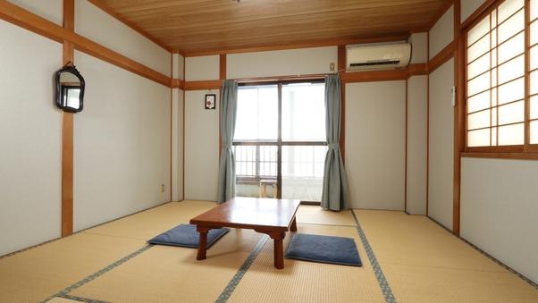 山側6畳和室(大人2名様〜)【Wi-Fi可・禁煙】