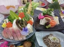 4/25~6/16開催☆信州花フェスタ2019専用会席をどうぞ!