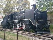 C56機関車 昭和12生まれです!お子様連れにオススメスポット♪