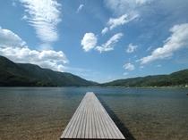 水の街大町。夏の木崎湖の爽やかな風の中で・・・
