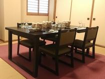 周囲に気兼ねすることなくお食事をお楽しみいただける個室食をどうぞ