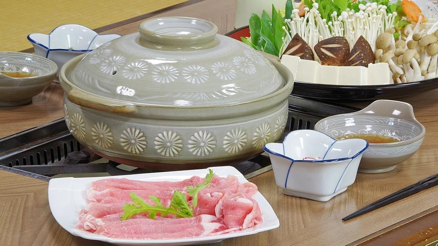 *【豚肉鍋一例】