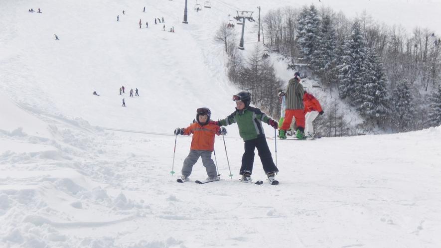 *【ハチ北スキー場】