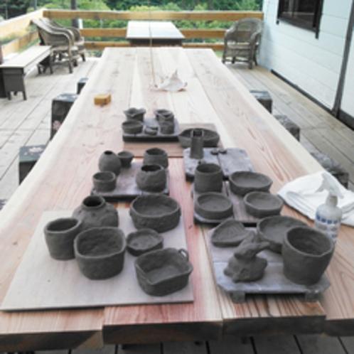 *【陶芸作りプラン】童心に返って、粘土をコネコネ♪初体験でも心配なし!