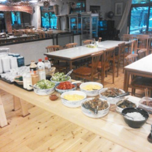 *【朝食一例】お腹いっぱい食べて、レジャーや観光へいってらっしゃい!