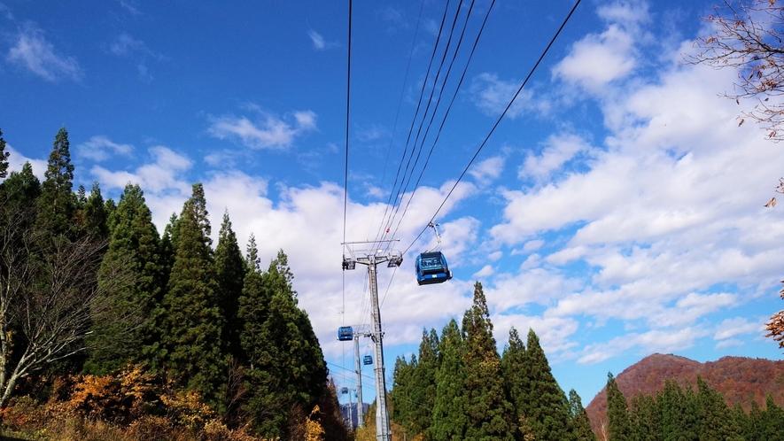 *【ドラゴンドラ】なえば高原とたしろ高原を結ぶ日本最長のゴンドラ☆優雅な空中散歩はいかがですか?