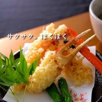★カニ天ぷら★