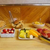 朝食バイキング:フルーツ