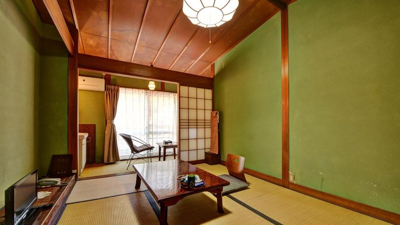 *客室例(1〜3名様用)☆純和風のお部屋で、のんびりとお寛ぎ下さい♪