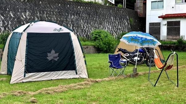 広々オートキャンプサイト(シャワーor風呂付)