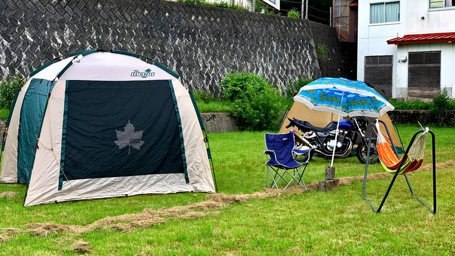 広々オートキャンプサイト