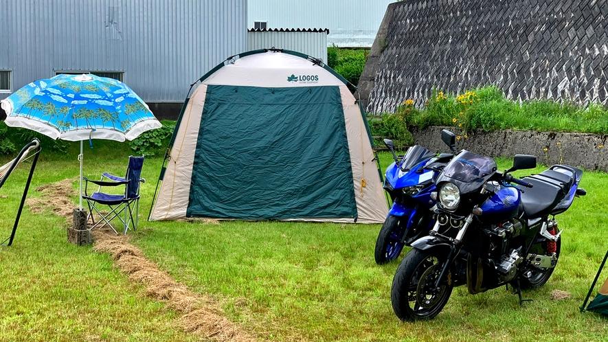 【バイク+キャンプ+BBQ】男のアウトドア