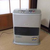 *【ヒーター】湯西川の冬は冷え込みます!温かくしておくつろぎください。