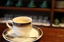 談話室コーヒー